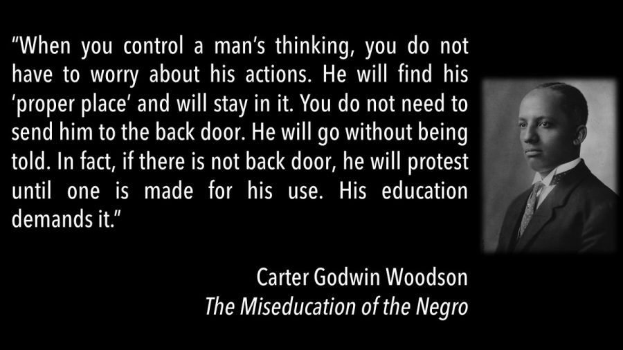 Carter G. Woodson On White Supremacist Education