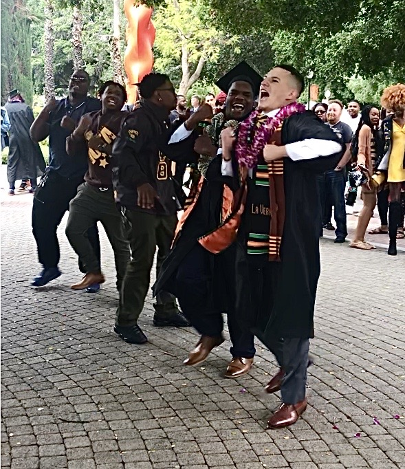 A Black Graduation Moment